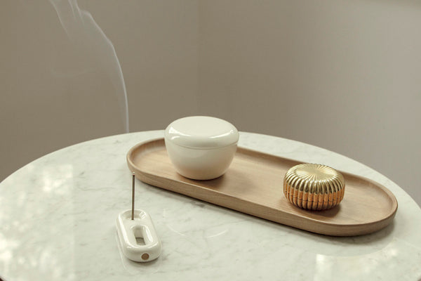 F8 Pipe as incense holder