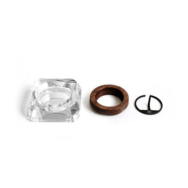 Marley Natural Crystal Ashtray Components KushKush