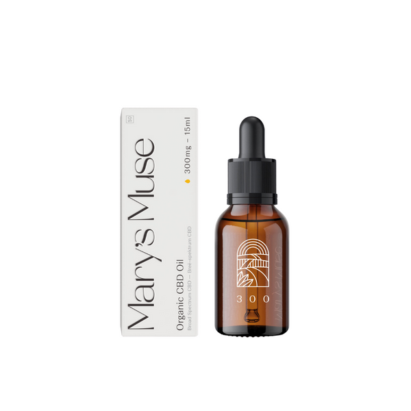 Mary's Muse 300 Organic CBD Oil