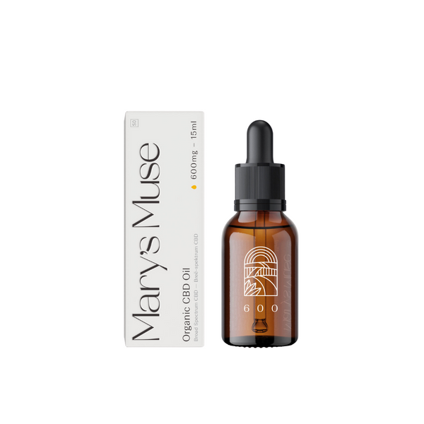 Mary's Muse Organic CBD Oil 600