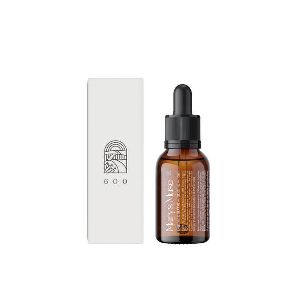Marys Muse Organic CBD Oil 600