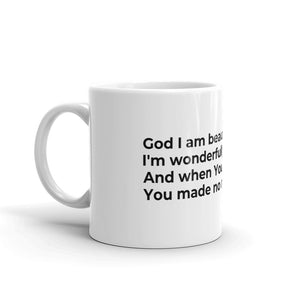 """WHAT YOU SAY"" MUG"