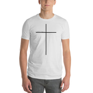 COURAGE CROSS White Short-Sleeve T-Shirt