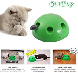 Funny Cat Interactive Toy At Scratching Device For Cat Sharpen Claw Pop Cat Training Toy