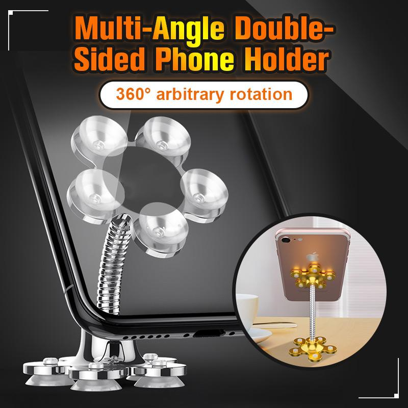 Rotatable Multi-Angle Double-Sided Phone Holder(2PCS)