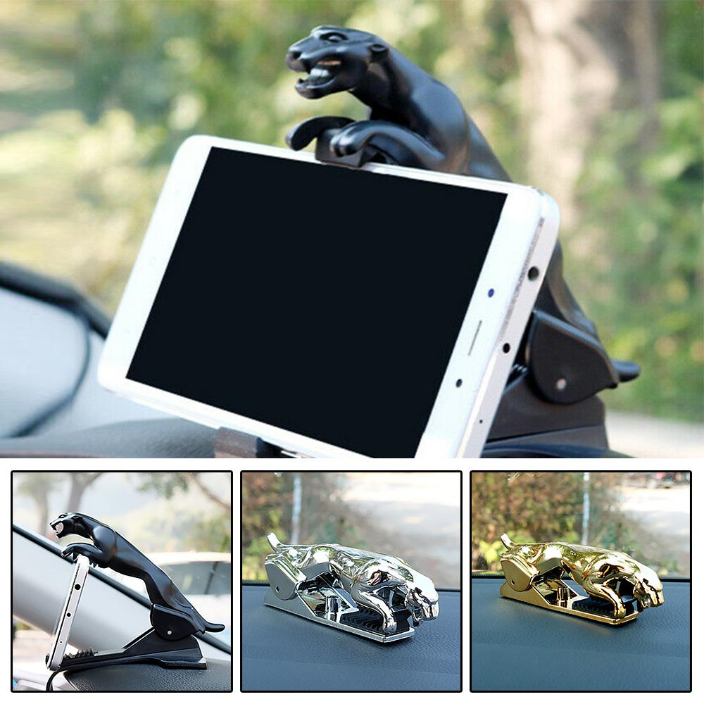 360 Degree Car Leopard Form Dashboard Phone Holder