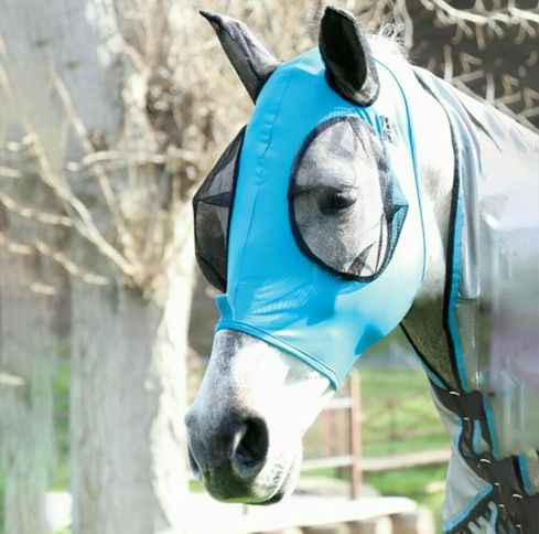 Equine Anti-Fly Mesh Mask