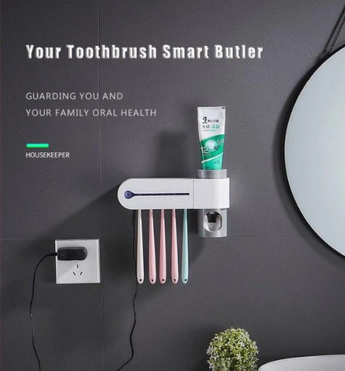 2-IN-1 Ultraviolet Toothbrush Shelter