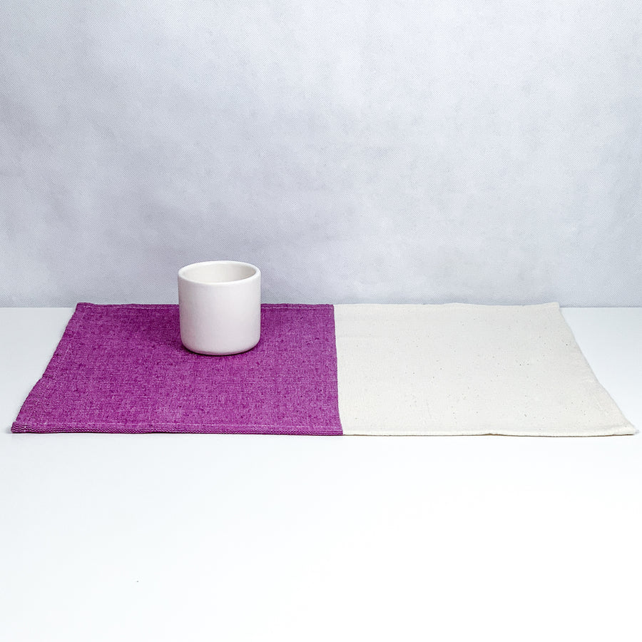 Purple / Natural Placemat