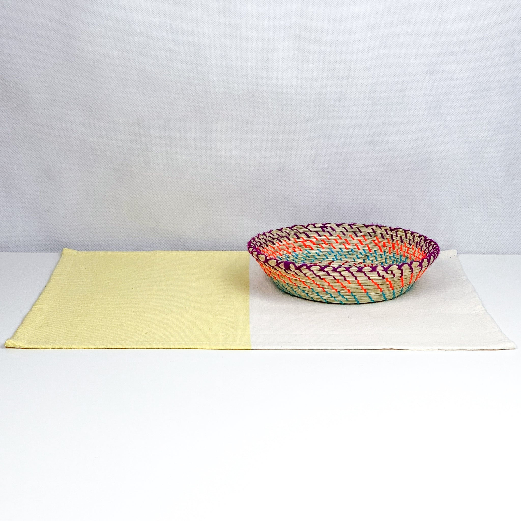 Yellow / Natural Placemat