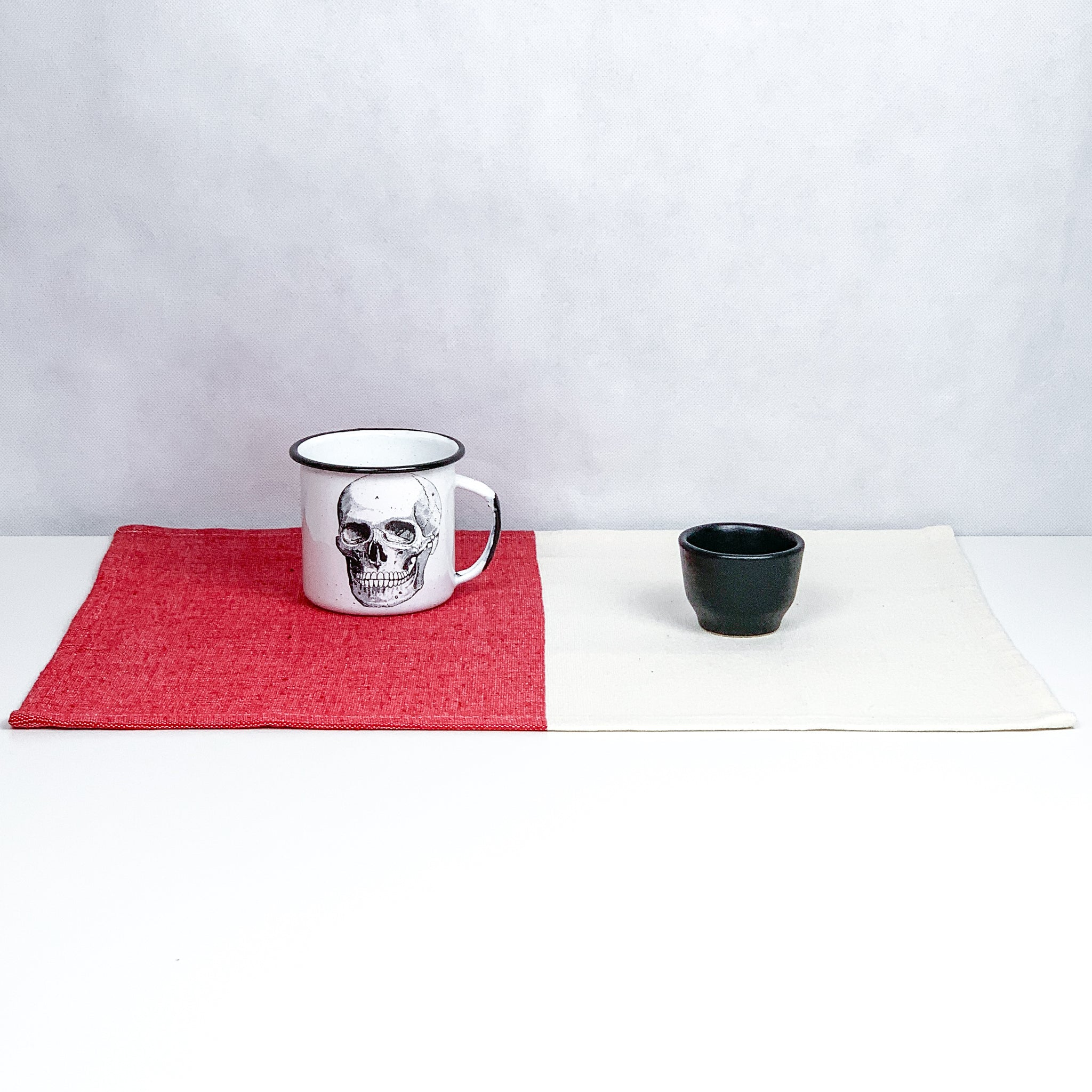 Red / Natural Placemat