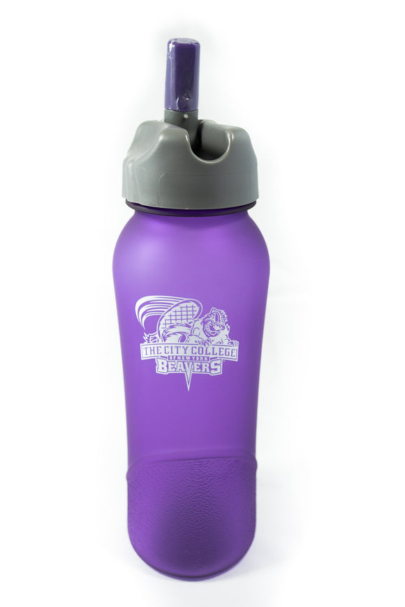 Purple Smooth Water Bottle