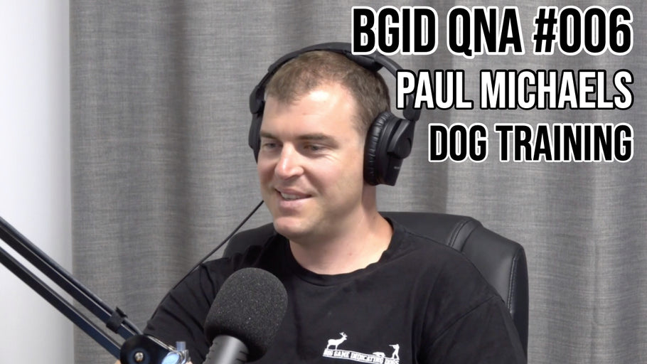 Big Game Indicating Dogs QnA #006