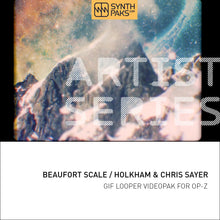 Load image into Gallery viewer, Beaufort Scale - Artist Series - Holkham & Chris Sayer - OP-Z App Videopak - Synthpaks | OP-Z | Teenage Engineering