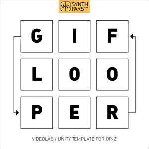 GIF Looper Template Project BETA - Synthpaks | OP-Z | Teenage Engineering