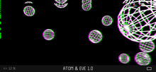 Load image into Gallery viewer, Atom & Eve - Audio Reactive - Custom OP-Z App Videopak - Synthpaks | OP-Z | Teenage Engineering