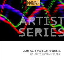 Load image into Gallery viewer, Light Years - Artist Series - Guillermo Olivera - OP-Z App Videopak - Synthpaks | OP-Z | Teenage Engineering
