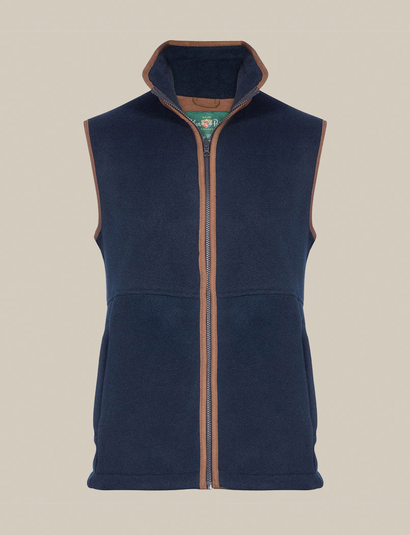 Women's Aylsham Fleece Gilet - Dark Navy