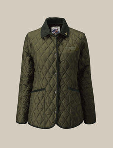 Women's Moorland Quilted Jacket - Olive