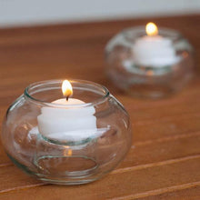 Load image into Gallery viewer, Eco-friendly Home Brands: Candle Holders Made from Recycled Glass