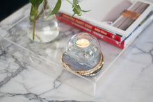 Load image into Gallery viewer, Eco-friendly Home Decor: Sustainable Candle Holders Made from Recycled Glass