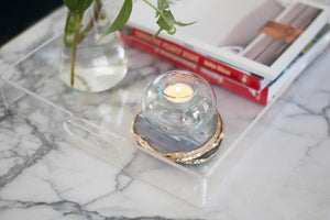 Eco-friendly Home Decor: Sustainable Candle Holders Made from Recycled Glass
