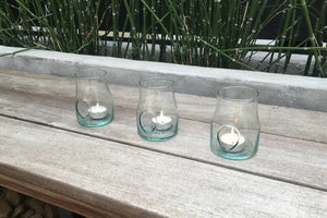 Shop Eco-friendly Home Decor: Recycled Glass Candle Holders