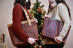 leather bag ethically made
