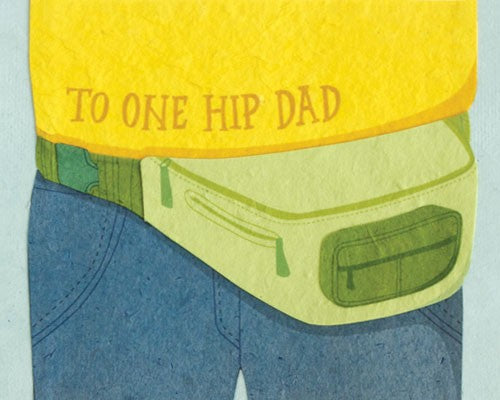 punny father's day card