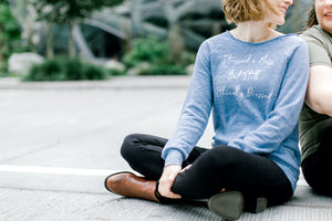 ethically made sweatshirt for women