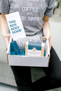 Fueled by Coffee & Dry Shampoo Gift Box
