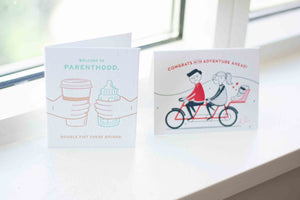 eco-friendly baby shower cards