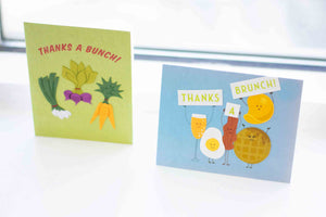 punny thank you cards