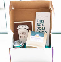 Load image into Gallery viewer, coffee lover gift box