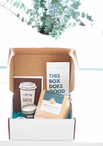 gift box for coffee lover