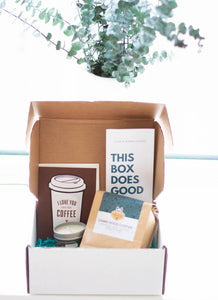 gift box for coffee addicts