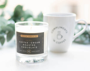 soy wax coffee candle