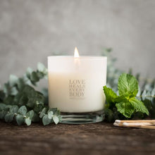 Load image into Gallery viewer, eucalyptus mint candle