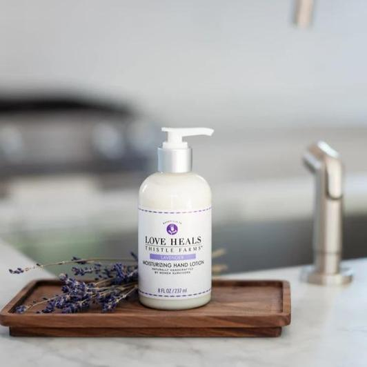 lavender lotion with pump