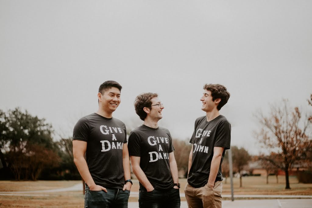 sustainable give a damn t-shirt