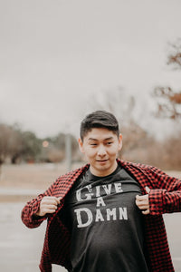 ethically made give a damn shirt