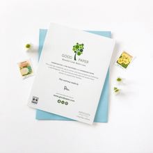 Load image into Gallery viewer, eco-friendly stationery that gives back