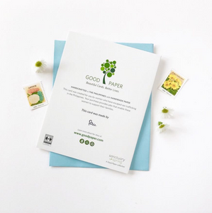 eco-friendly stationery that gives back