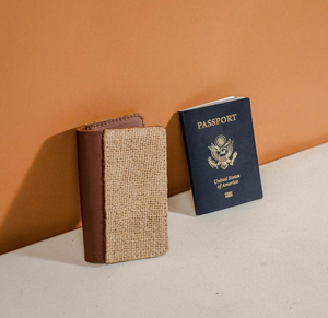 ethically made passport wallet