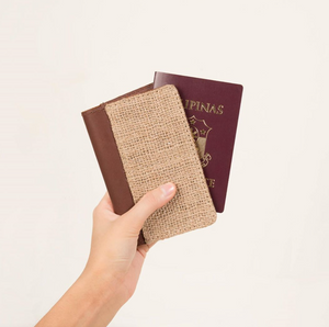 up-cycled passport holder