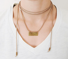 Load image into Gallery viewer, necklace made from recycled materials