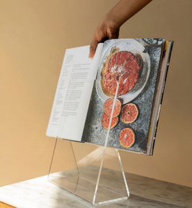 cookbook holder made from recycled materials