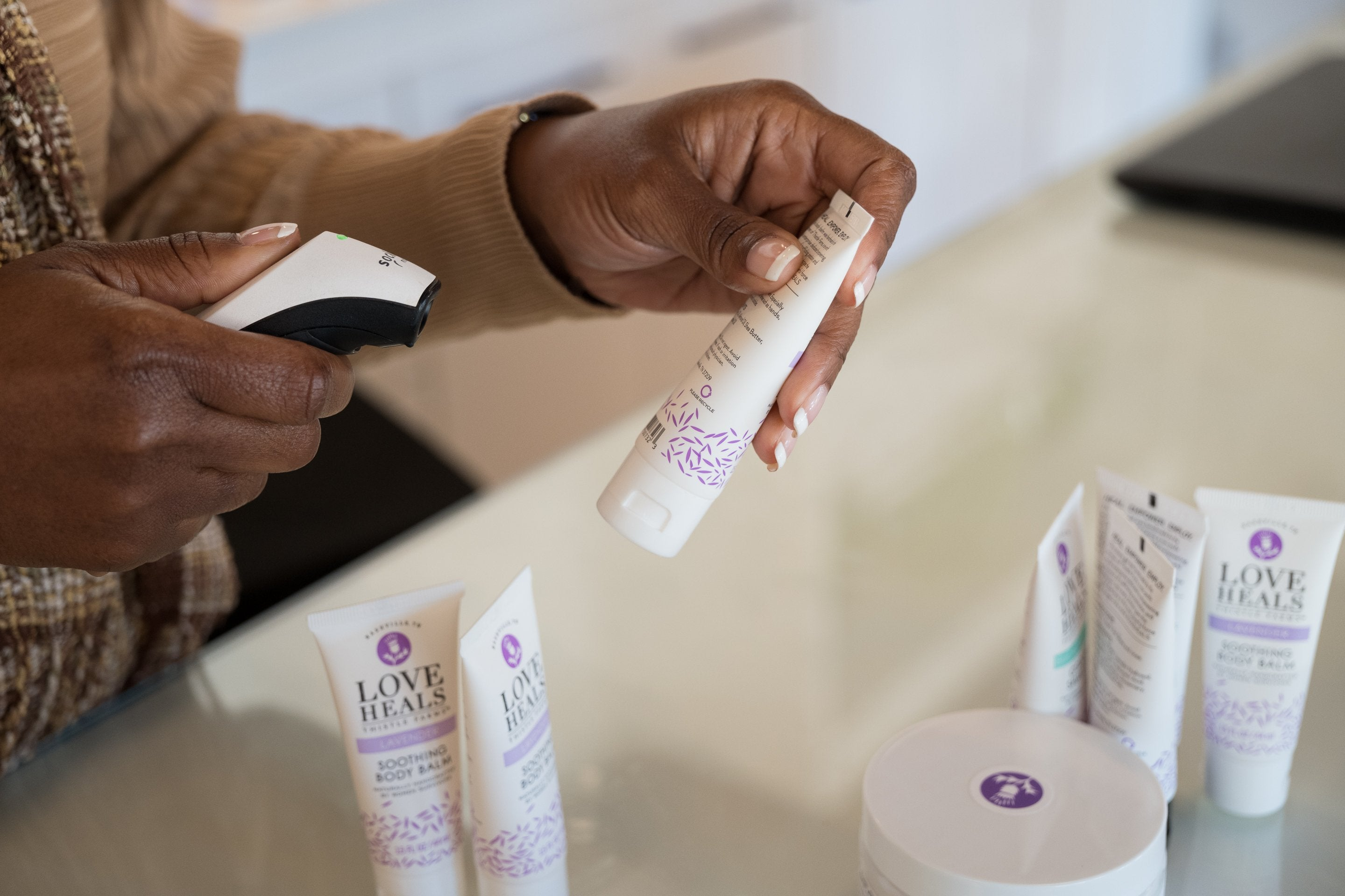 Travel Size Lotions Handmade by Survivors of Human-trafficking