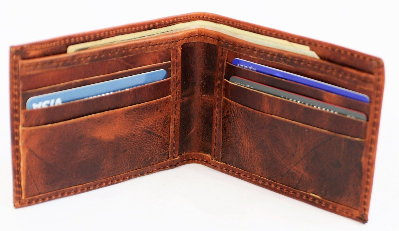 ethically made men's wallet