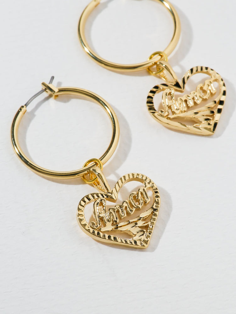 The Amor Heart Earrings